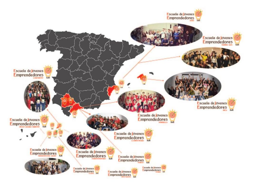 Escuela especializada actitud emprendedora jovenes emprendedores España somos educacion valores online ALUMNOS
